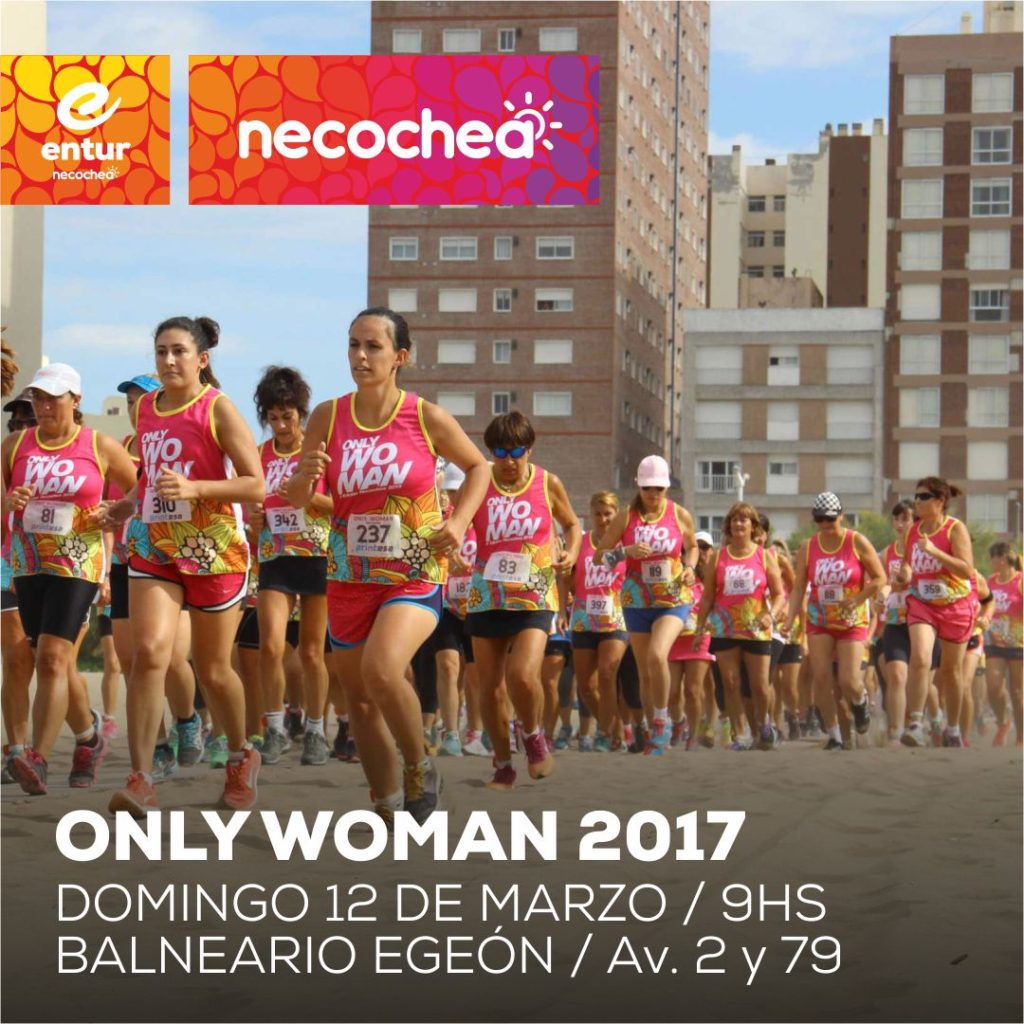 09 03 AFICHE Placa Only Woman 2017 Necochea